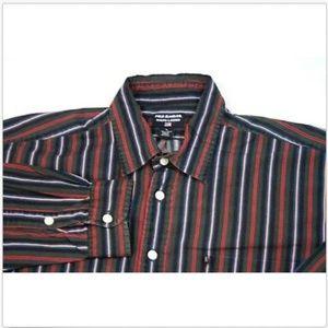 Vintage Polo Ralph Lauren Button Front Retro Shirt